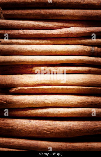 Texture image cinnamon sticks. - Stock-Bilder