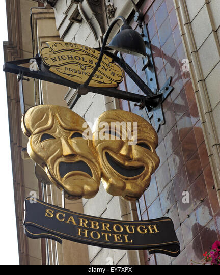 Scarbrough Hotel, Bishopsgate Street, Leeds, Yorks, Classic Pub - Stock Image