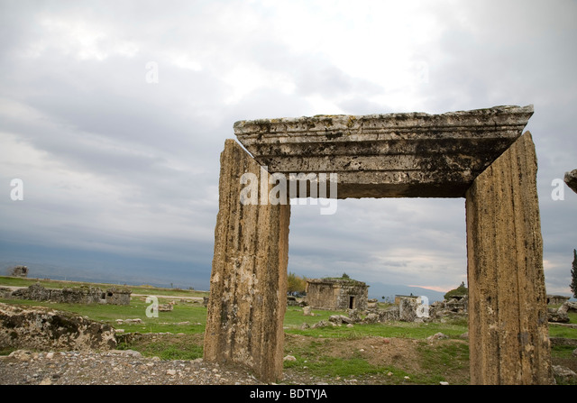 Antiquity city in anatolia, archeological excavation, turkey - Stock-Bilder