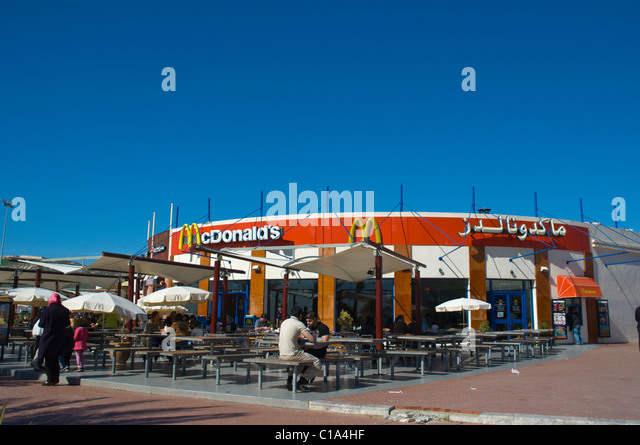 Mcdonalds fast food restaurant stock photos mcdonalds for Agadir moroccan cuisine aventura fl