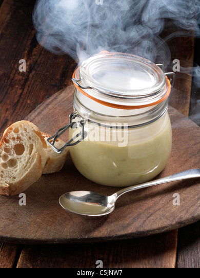 Smoked soup - Stock Image