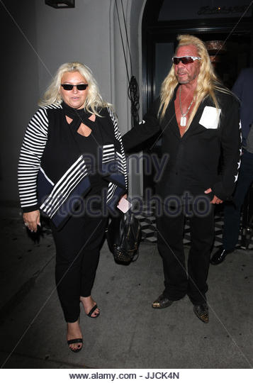Baby Gift Baskets Los Angeles Ca : Duane dog chapman and beth smith stock photos