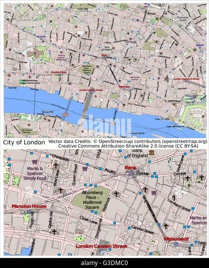 aerial map london stock photos aerial map london stock images alamy. Black Bedroom Furniture Sets. Home Design Ideas