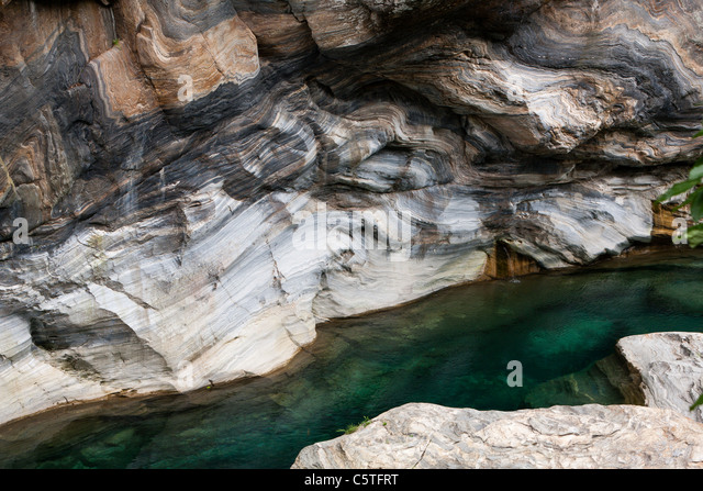 Clear Marble Rocks : Scenic marble rocks stock photos