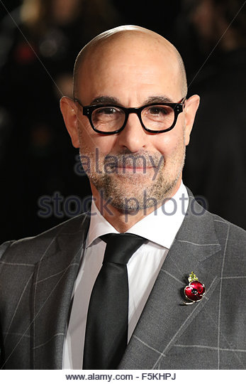 London, United Kingdom. November 6th, 2015. UNITED KINGDOM, London: Stanley Tucci attends the UK premiere of The - Stock Image