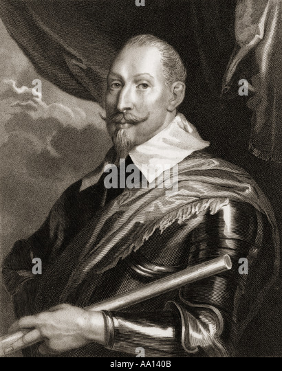 GUSTAVUS ADOLPHUS II 1594 1632 King of Sweden 1611 1632 - Stock Image