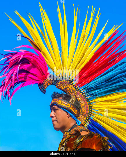 A Participant at the Fiesta Las Vegas Parade held in Las Vegas ,Nevada - Stock Image
