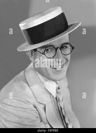 Harold Lloyd in the 20's - Stock Image