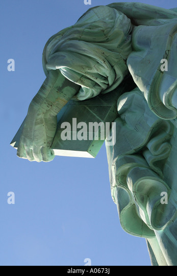 Statue of Liberty, Liberty Island, New York - Stock Image
