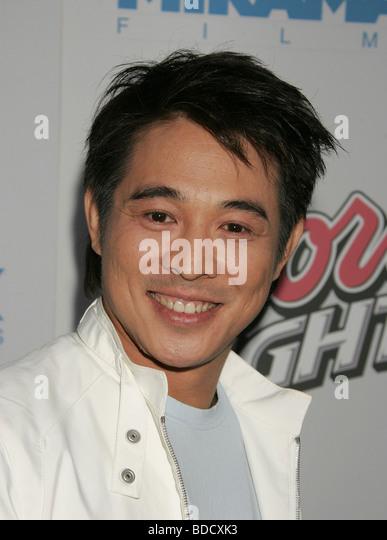 JET LI - Chinese martial arts film actor - Stock-Bilder