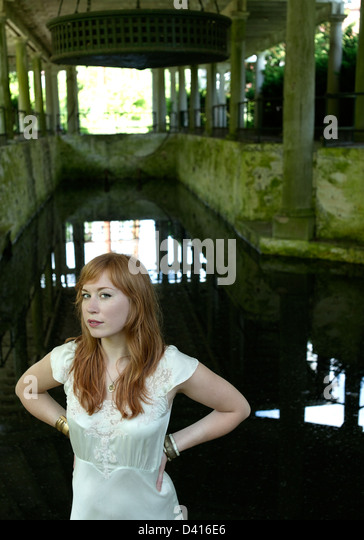 Portrait of  Red Head - Stock Image