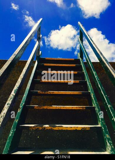 Stairs going up - Stock-Bilder