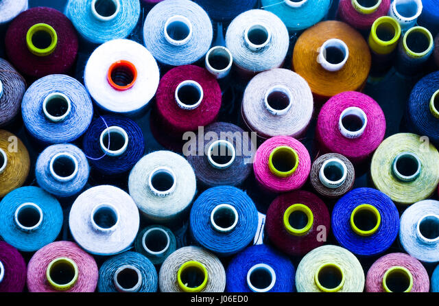 Cotton Threads - Stock Image