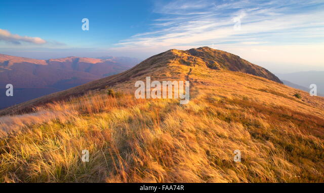 Bieszczady Mountains, Poland - Stock Image