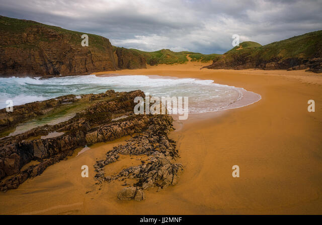 Murder Hole Beach - Donegal - Stock Image