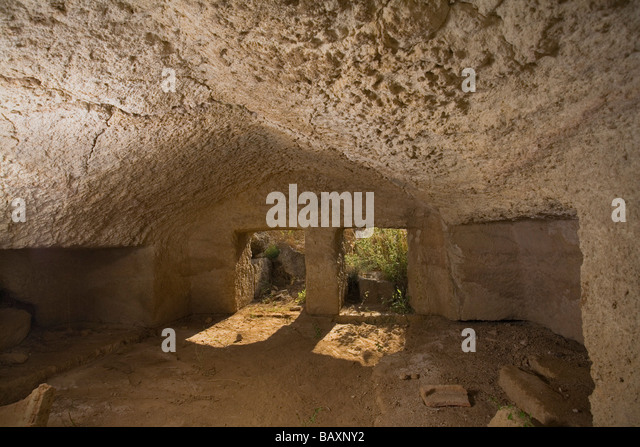 Tomb of the Kings, Archaeology, Salamis, North Cyprus, Cyprus - Stock Image