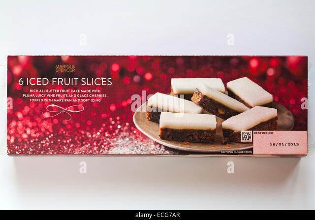 Marks And Spencer Iced Fruit Cake