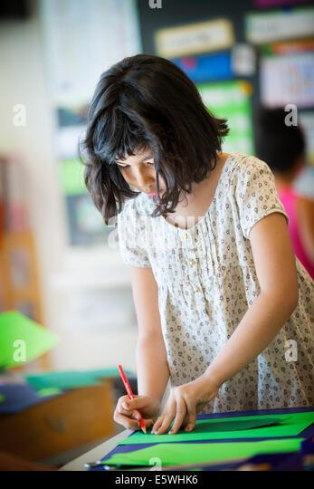 Primary school - Stock Image