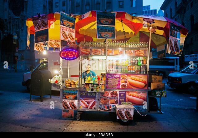 Goth Hot Dog Stand