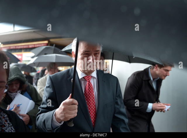 Berlin, Germany, Klaus Wowereit, SPD, Berlin's governing mayor - Stock Image