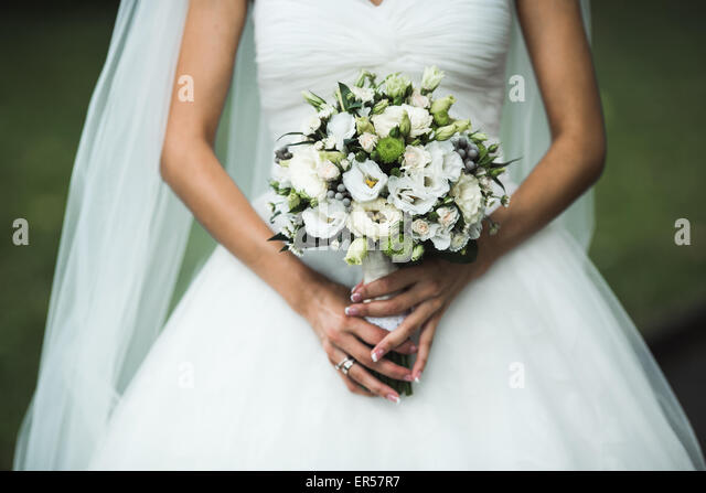 Very beautiful wedding bouquet - Stock-Bilder
