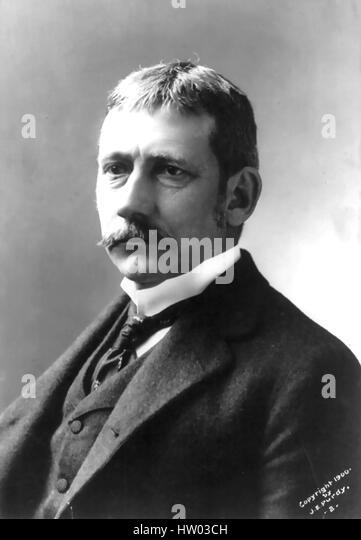 ELIHU ROOT (1845-1937) American politician, lawyer and Secretary of War 1899-1904 - Stock-Bilder