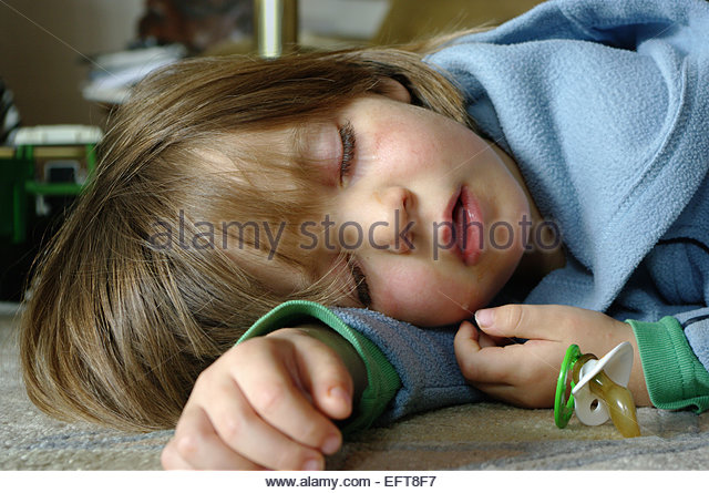 Preschooler Asleep Bed Stock Photos Amp Preschooler Asleep