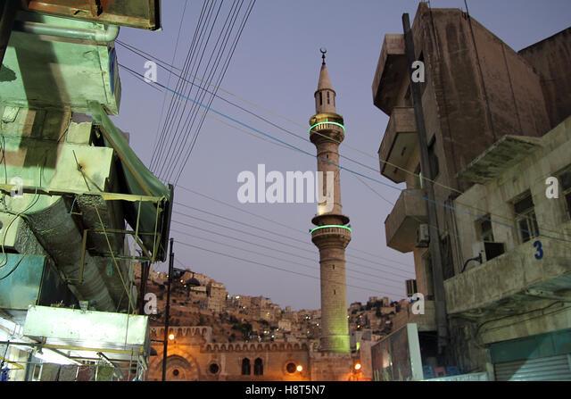 Capitol of Jordan - Amman. - Stock Image