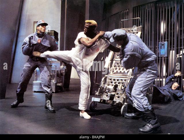 DEMOLITION MAN (1993) WESLEY SNIPES DMM 008FOH - Stock Image