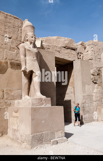 Impressions of Karnak Temple, Luxor, Egypt - Stock Image