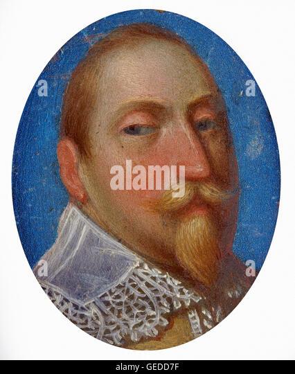 Gustavus Adolphus, King of Sweden 1611-1632 - Stock Image