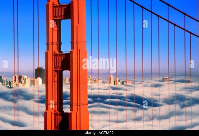 GOLDEN GATE SAN FRANCISCO - Stock Image
