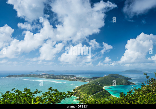 Virgin Gorda in the British Virgin Islands of the Carribean. - Stock Image