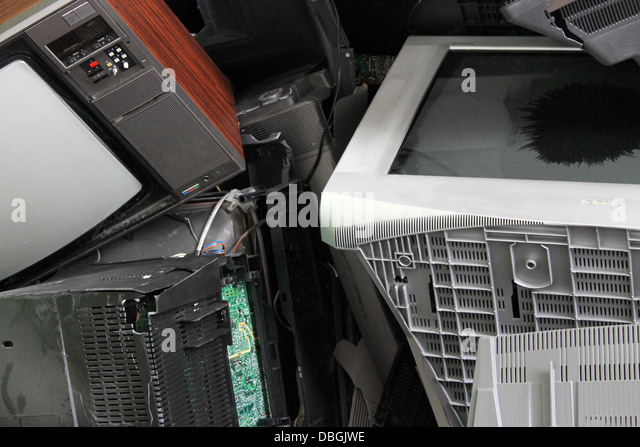 Electronic waste - Stock Image