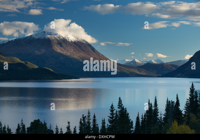 Tutshi Lake, British Columbia, Canada - Stock Image