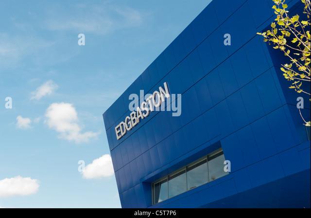 The recently developed Edgbaston Cricket Ground - Stock Image