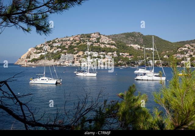 Spain, Balearic Islands, Majorca, Andraitxbay - Stock Image