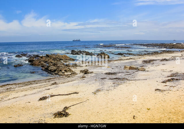 Sea Point in Cape Town - Stock Image