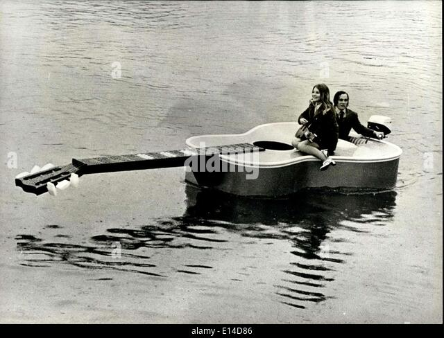 Apr. 17, 2012 - World's most remarkable boat: What is without doubt the world's strangest vessel is seen - Stock Image
