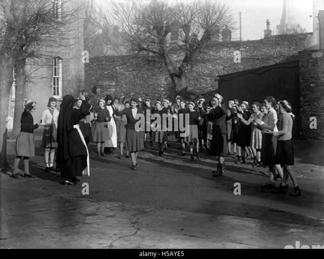 Netball with the Sisters of Charity - Stock Image