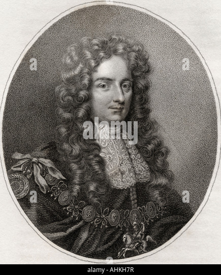 Laurence Hyde 1st Earl of Rochester - Stock Image