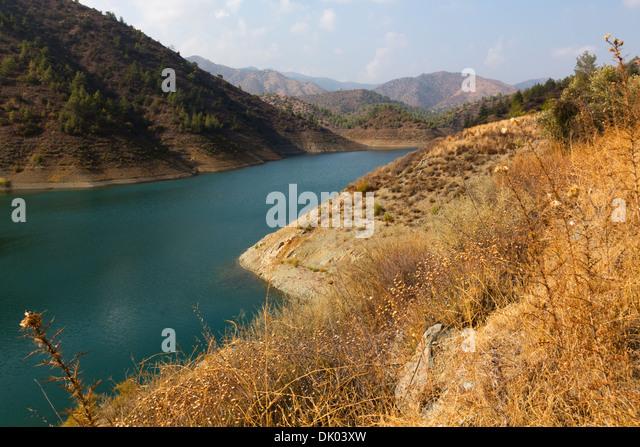 Lefkara Dam, Lefkara, Cyprus. - Stock Image