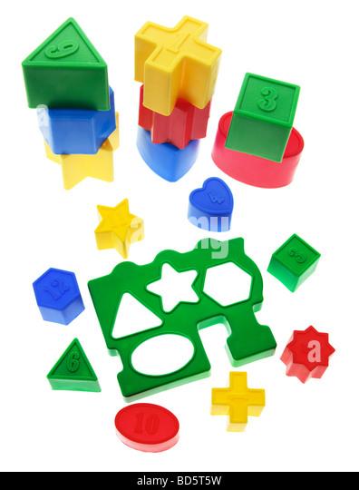 Shape Sorter Toys - Stock Image