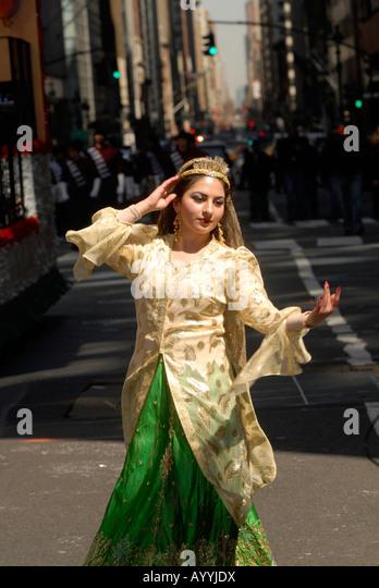Nowruz parade in New York - Stock Image