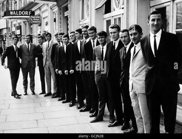 Cricket - Australia in British Isles 1968 - portraits - London - Stock Image