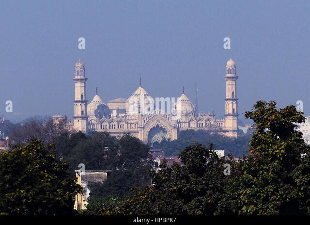 Shani Jama masjid in Lucknow. - Stock Image