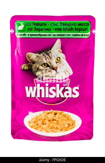Tesco Whiskers Cat Food