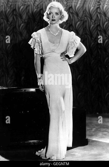 Bette Davis in Film - THE CABIN IN THE COTTON, USA 1932 *** Local Caption ***, 1930er, 1930s, Fashion, Film, Portrait, - Stock Image