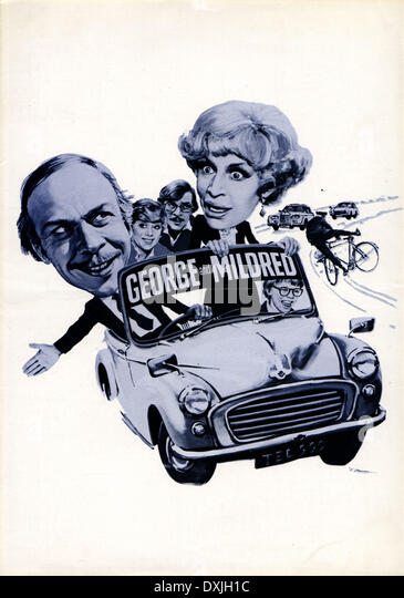 GEORGE AND MILDRED - Stock Image