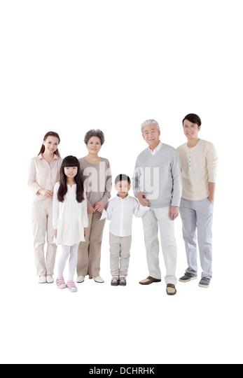 Happy family - Stock-Bilder